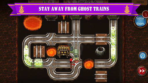 Rail Maze 2 : Train puzzler  screenshots 3