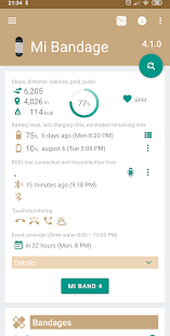 Mi Bandage - Mi Band & Amazfit support - Apps on Google Play