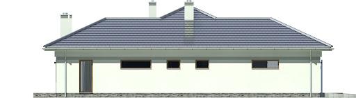 Gracjan z garażem 1-st. A1 - Elewacja lewa