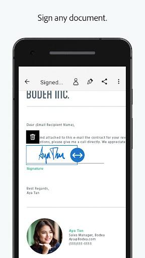 Adobe Fill & Sign: Easy PDF Doc & Form Filler. 1.5.0 Apk for Android 4
