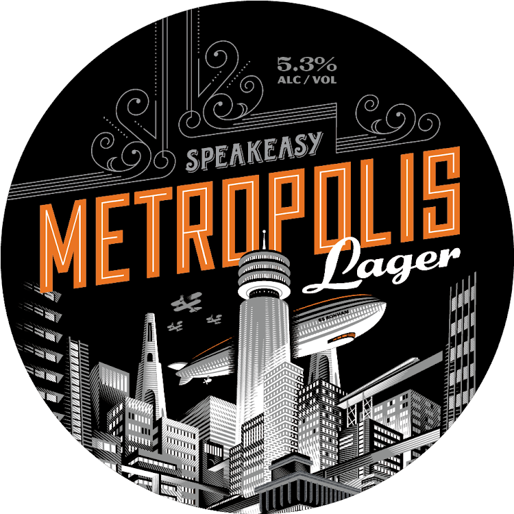 Logo of Speakeasy Metropolis Lager