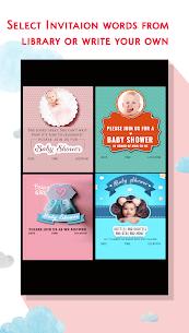 Baby Shower Invitation Card Maker 3