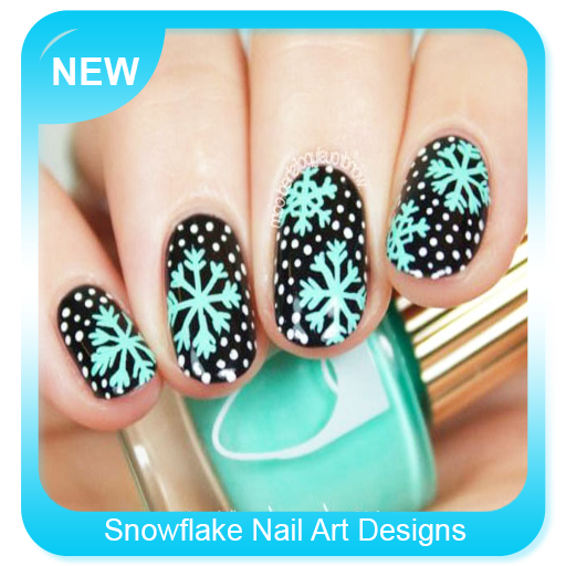 App Insights Snowflake Nail Art Designs Apptopia