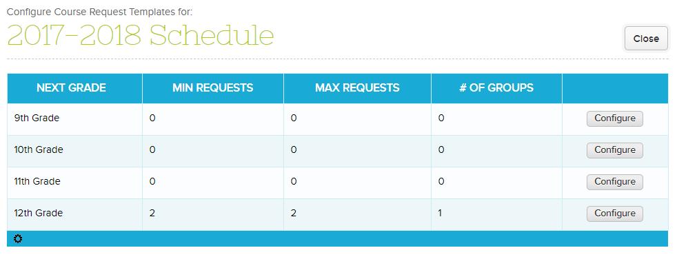 Configure Course Request Template – QuickSchools Support