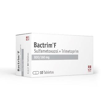 Bactrim F 800/160Mg Tab.   Cajax10Tab. Roche Sulfametoxazol Trimetoprima