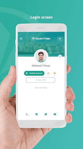 Kuveyt Tu00fcrk - Mobil Bankacu0131lu0131k & Cep u015eubesi  screenshots 2