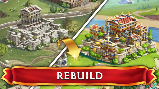 Jewels of Rome: Match gems to restore the city screenshots 10