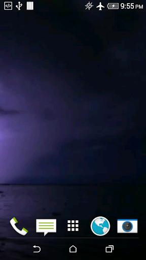 Lightning Video 3D Wallpaper