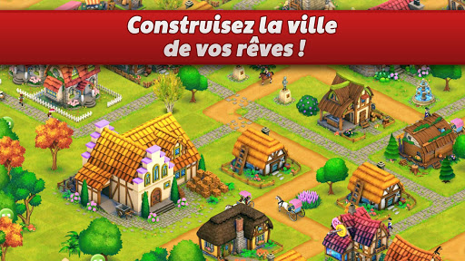 Town Village : ferme, commerce, farm, build, city fond d'écran 2