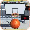 Shooting Hoops basketball game icon