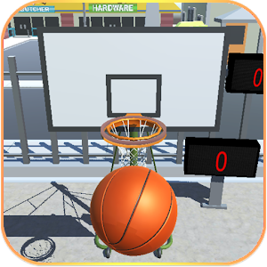 Shooting Hoops basketball game for PC and MAC