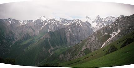 Photo: Shait, upper (view from Khudoyar pass, SE)