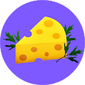 Recipes with cheese icon