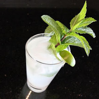 An Unconventional Mojito.