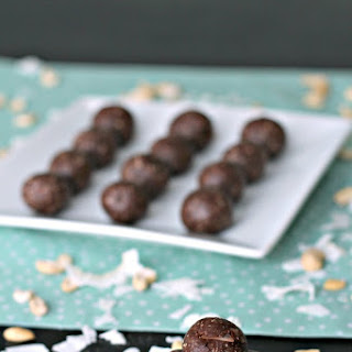 Chocolate Coconut Cashew Bites Recipe