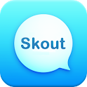 Messenger and Chat for Skout icon