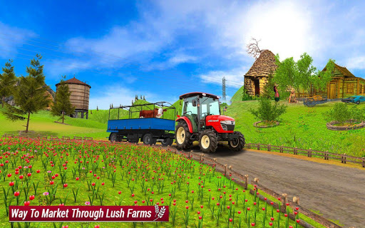 Drive Farming Tractor Cargo Simulator ud83dude9c  screenshots 6