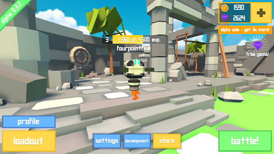Rocket Shock 3D - Alpha- screenshot thumbnail