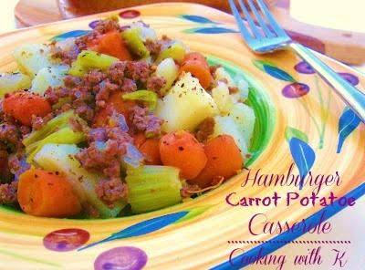 Hamburger Carrot Potato Casserole Recipe