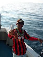 Photo: 根魚は良く食ってます。 ・・・一人しかジグをシャクってません。