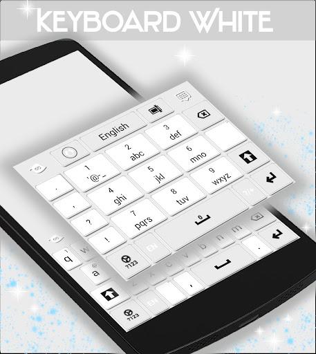 無料个人化Appのキーボードホワイト|記事Game