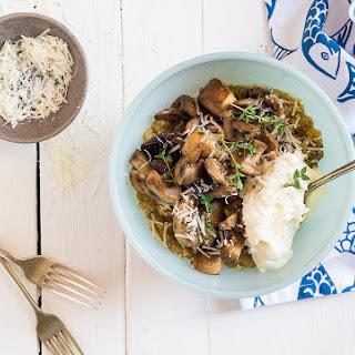 Quinoa and Mushroom Risotto