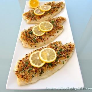 Flounder Oreganata