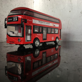 London bus by Janette Ho - Artistic Objects Toys
