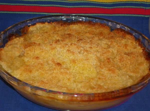 Great Great Aunt Sophie's Apple Crisp Recipe