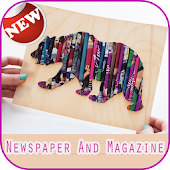 DIY newspaper and magazine