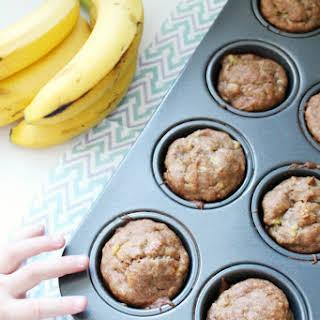 Easy Gluten-Free Banana Muffins.