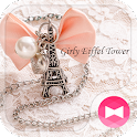 Cute Theme-Girly Eiffel Tower- icon