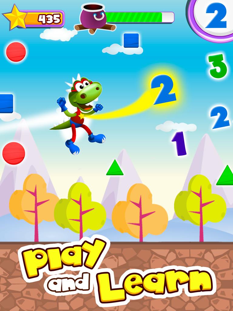 Dino Tim Full Version: Basic Math for kids Screenshot 1