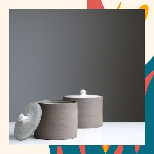 Ceramic Containers - Instagram Post Template