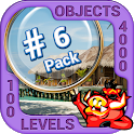 Pack 6 - 10 in 1 Hidden Object Games by PlayHOG icon