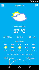 Algeria Weather screenshot 0