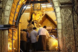 Photo: Year 2 Day 55 - The Buddha in Mahamuni Paya