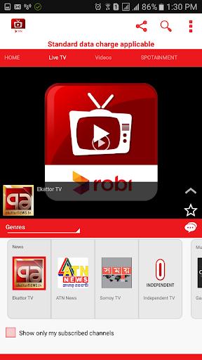Robi TV 24 screenshots 8