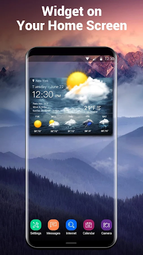 Live weather & widget for android 16.6.0.6270_50153 Screenshots 1