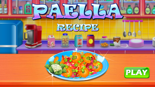 Paella Recipe - Cooking Game For Kids  screenshots 1