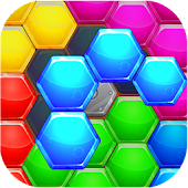 Hexic Puzzle: Hexagon Block HD