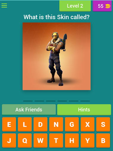 Guess the Fortnite Skin for PC