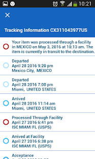 Tracking Tool For USPS - náhled