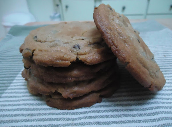 Jumbo Peanut Butter Filled Chocolate Chip Cookies Recipe