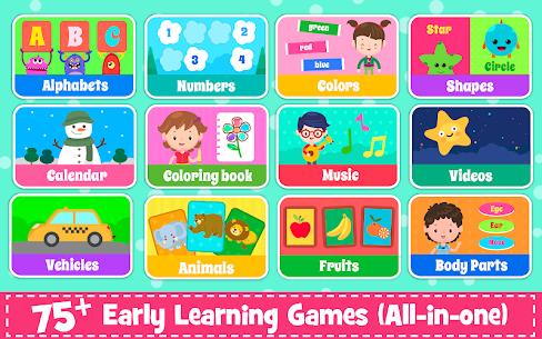 Kids Preschool Learning Games – 80 Toddler games 1