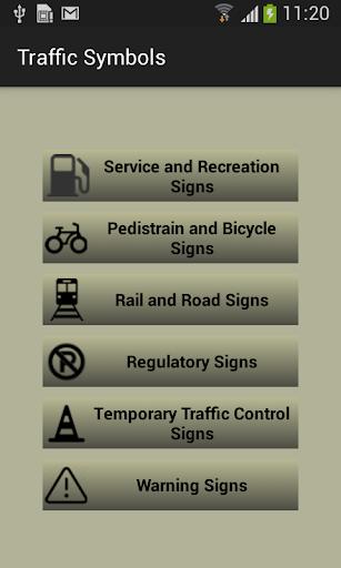 USA Traffic Symbols Meaning