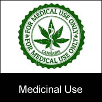 medicinal use cannabis