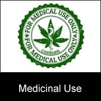 medicinal use cannabis