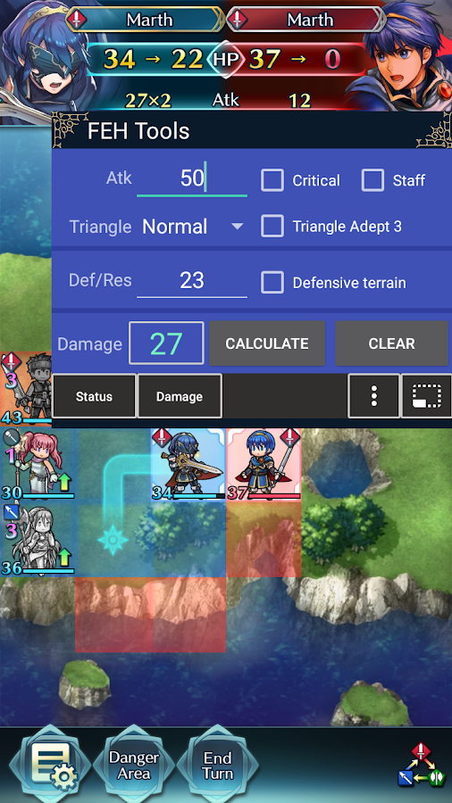 FEH Tools(Calc stats,IV,damage/Fire Emblem Heroes)- screenshot