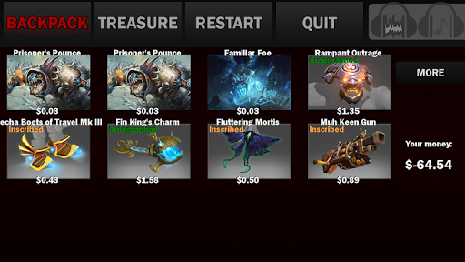 Treasure Opening for Dota 2